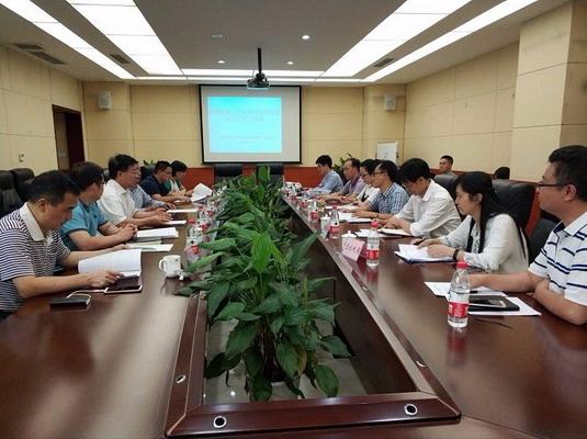 国家普查办副主任刘舒生一行来碚检查指导第二次全国污染源普查工作